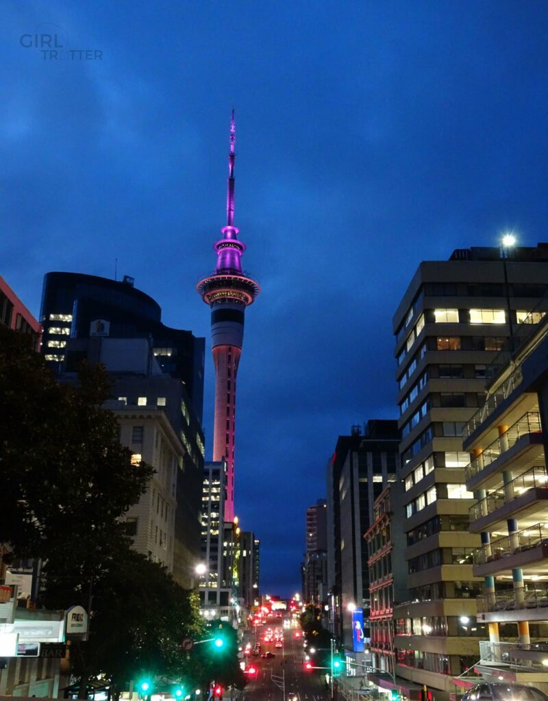 Auckland by night - Arrivée à Auckland, que faire ? Girltrotter
