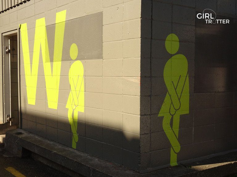 Toilettes publiques de Wellington - Girltrotter