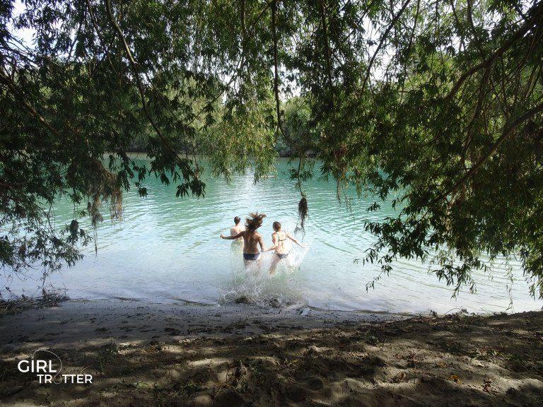 Spinrg creek à Blenheim dans la région viticole du Marlborough en Nouvelle-Zélande - Girltrotter