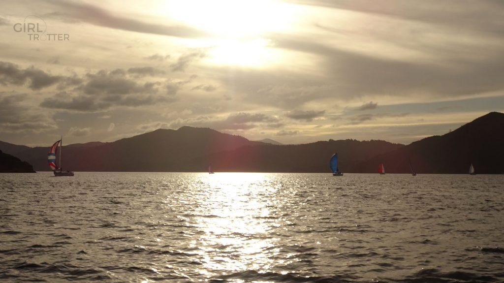 Régate à Picton Nouvelle Zélande - Girltrotter