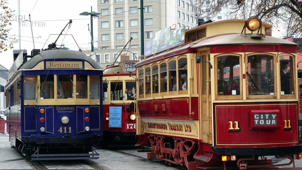 Les tramways de Christchurch - Girltrotter