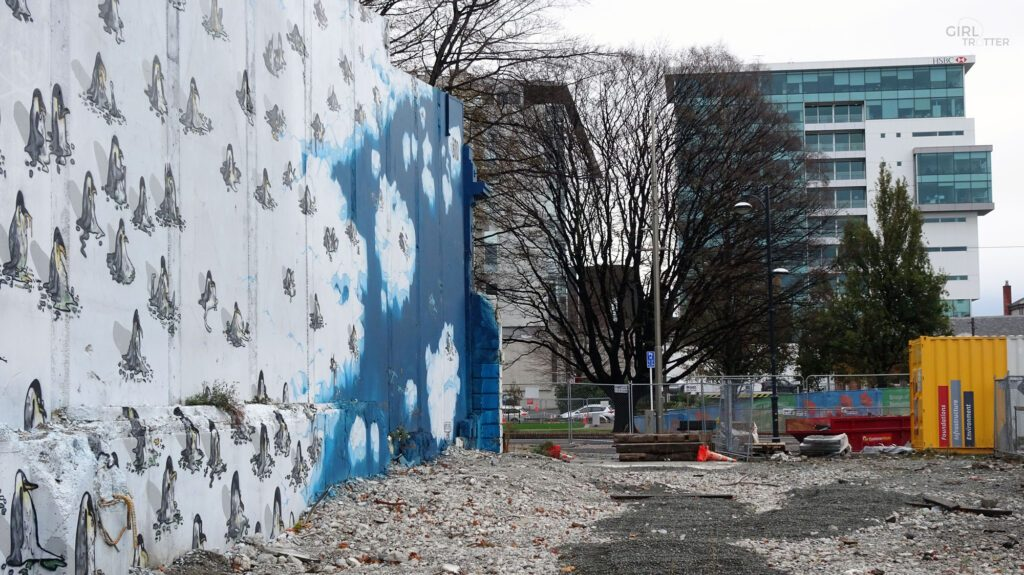 Street art à Christchurch - Girltrotter