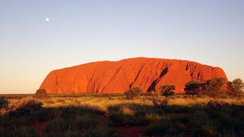 Coucher-de-soleil-sur-Uluru