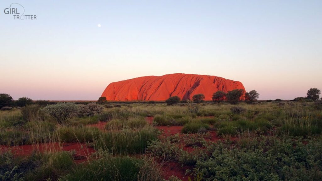 Australie Uluru Ayers Rock Coucher de soleil t - Centre Rouge - Girltrotter