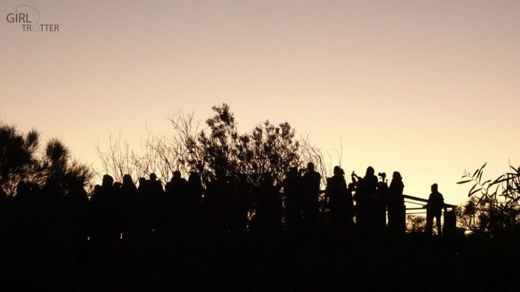 Australie - Lever de soleil sur Uluru Ayers Rock Centre Rouge - Girltrotter