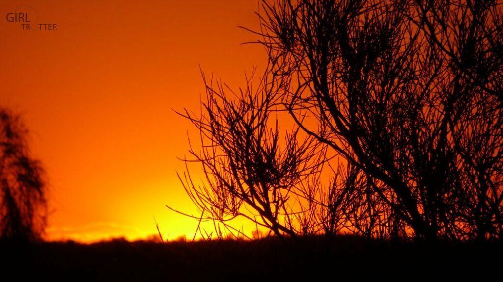 Coucher de soleil sur les Monts Olga Kata-Tjuta - Australie - Girltrotter 2
