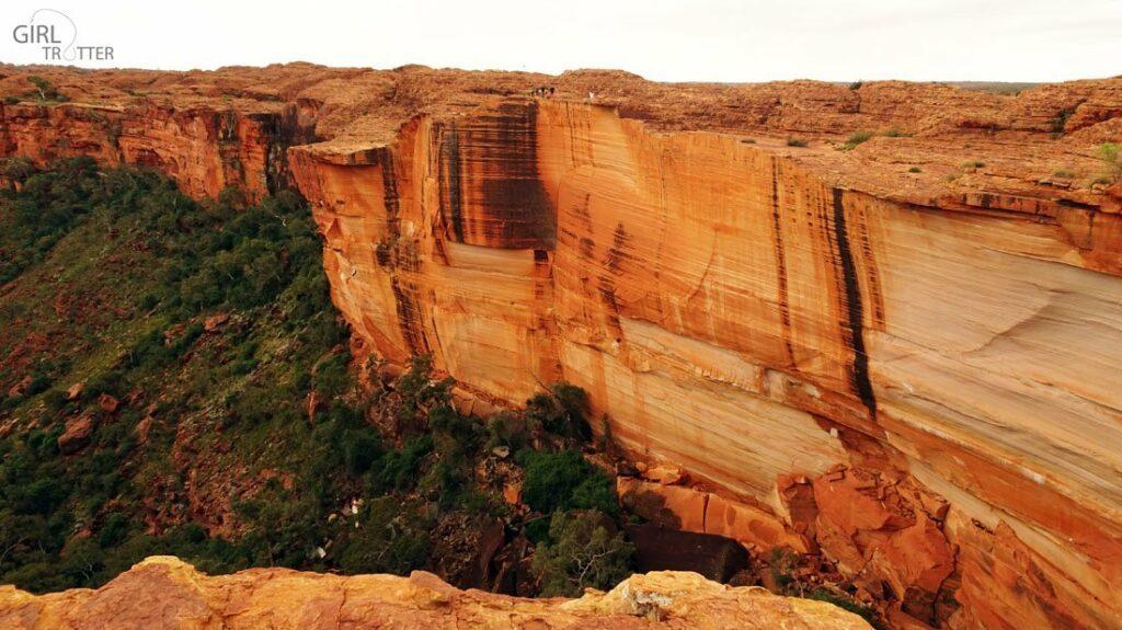 La faille du Kings Canyon AustraliE