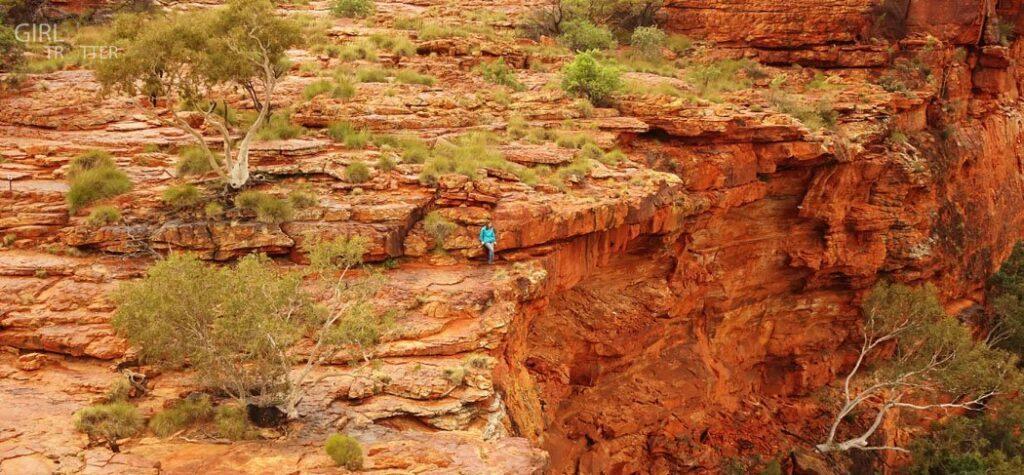 La faille du Kings Canyon Australie - Girltrotter