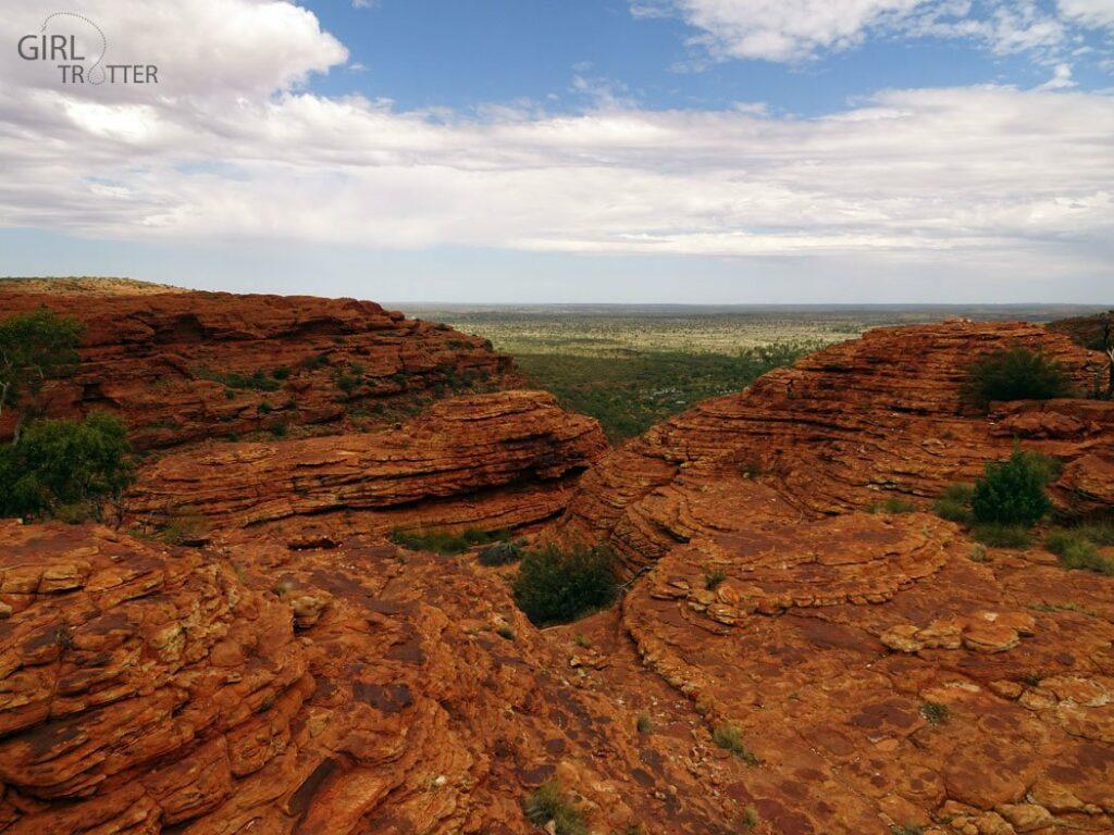 Le Kings Canyon Australie