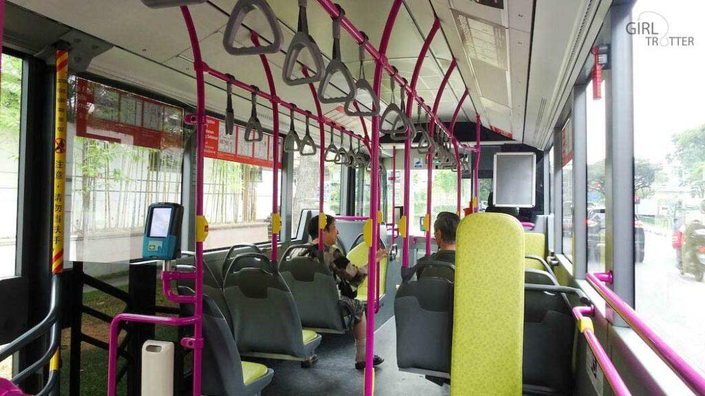Prendre le bus à Singapour