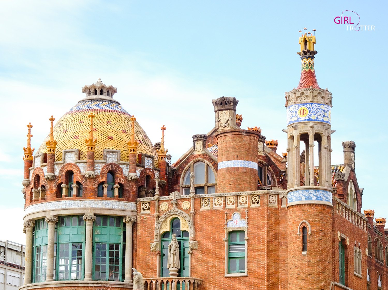 Hopital San Creu i Pau Barcelone - Girltrotter