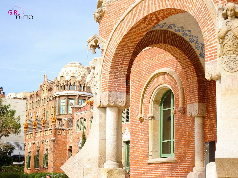 Maison des opérations Hopital San Creu i San Pau Barcelone by Girltrotter