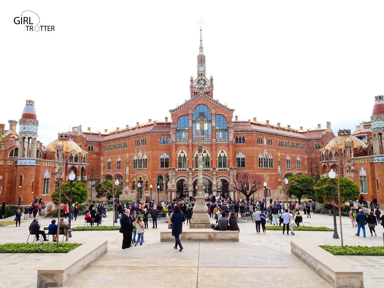 Hopital San Creu i San Pau a Barcelone by Girltrotter