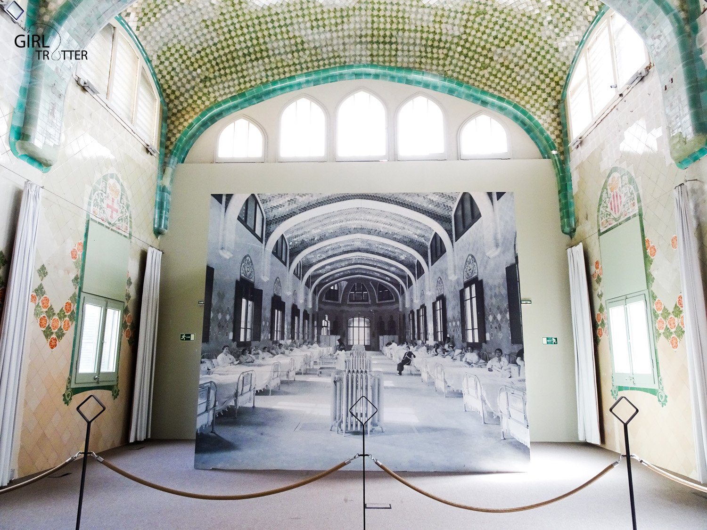 Pavillon Sant Salvador de l'Hopital San Creu i San Pau de Barcelone by Girltrotter