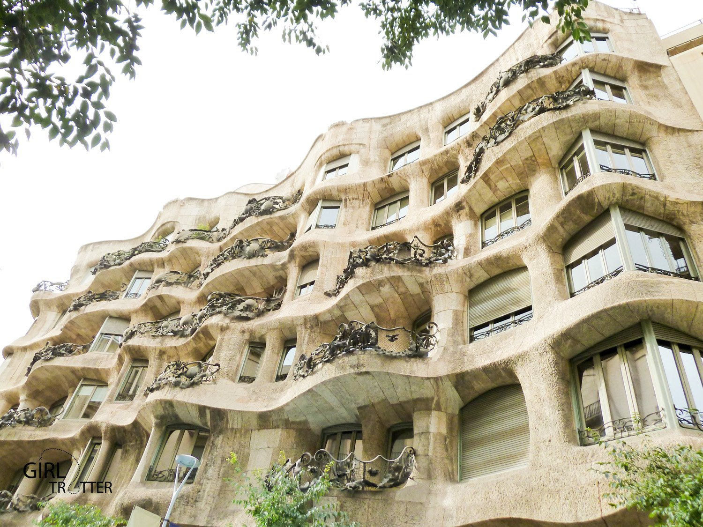 La casa mila de Gaudi a Barcelone by Girltrotter