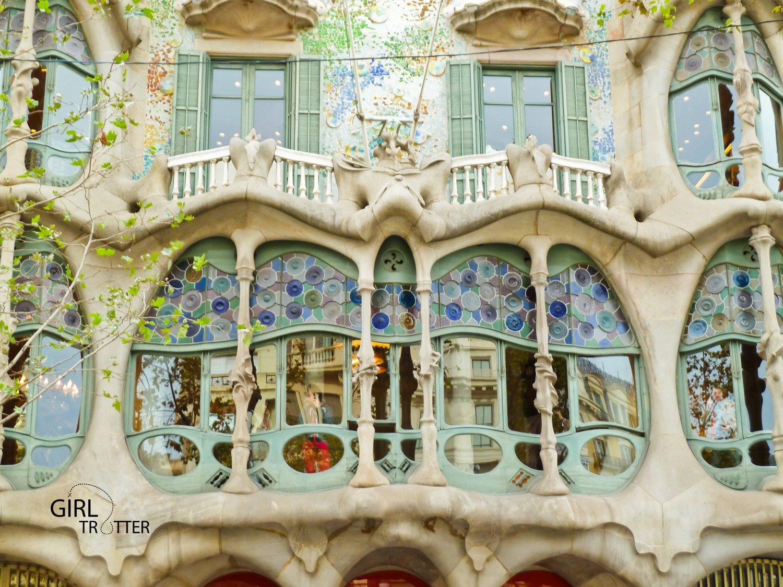 La casa battlo de Gaudi a Barcelone by Girltrotter