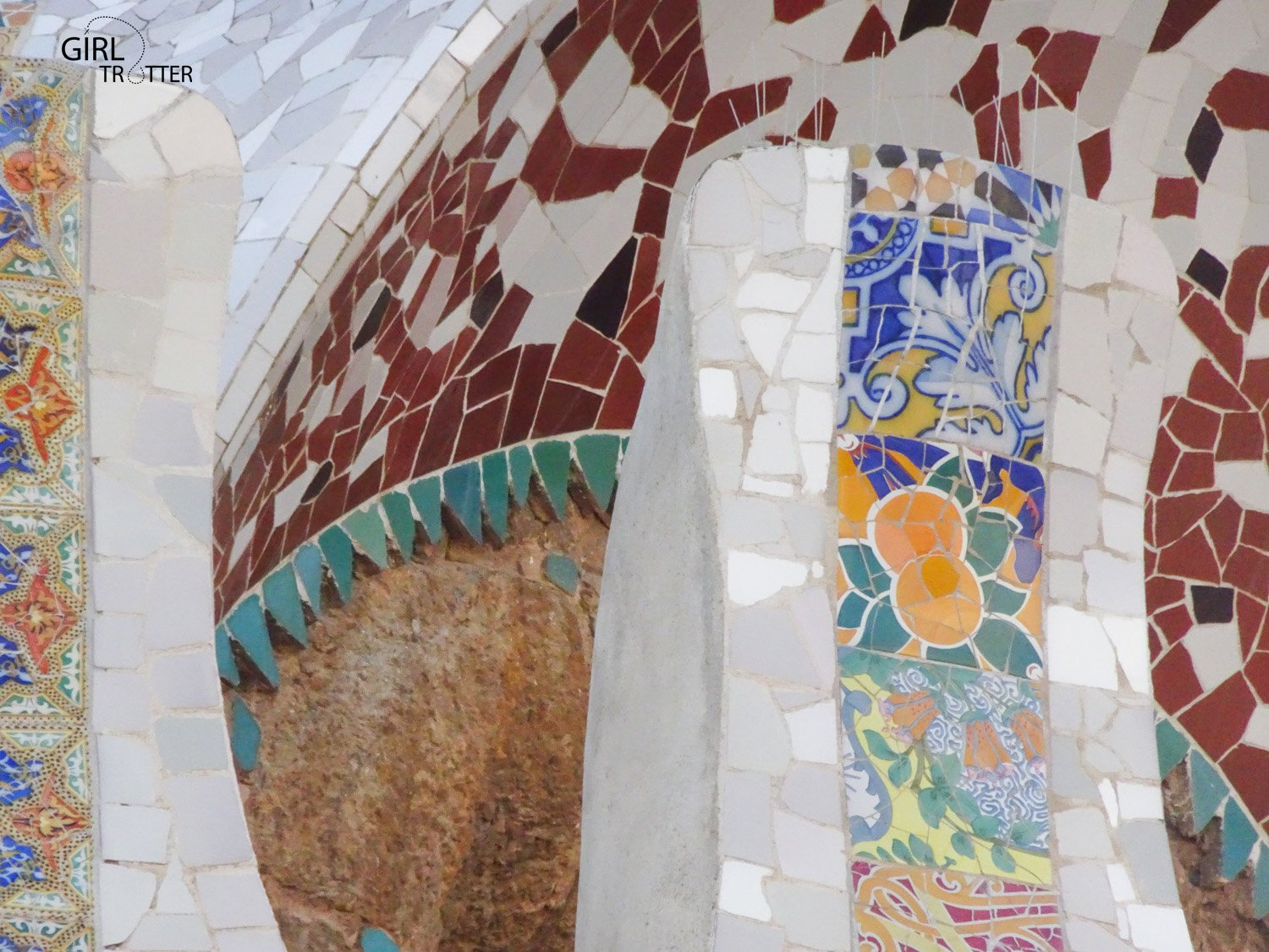 Parc Guell - Le Barcelone de Gaudi by Girltrotter