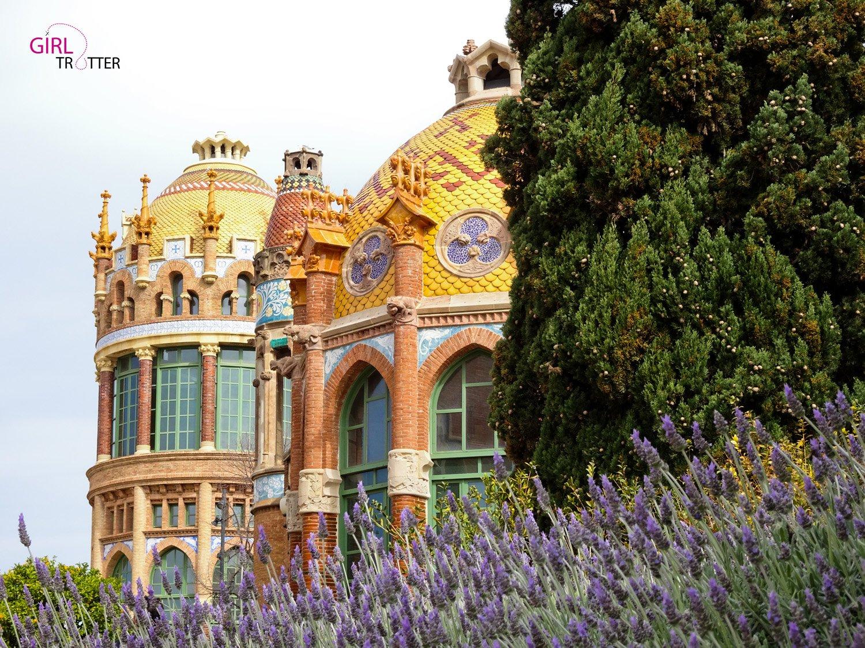 Pavillon Sant Rafael de l'Hopital San Creu i San Pau.jpg