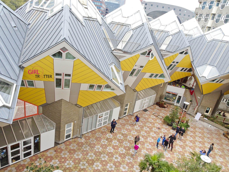 Roadtrip aux pays-bas hollande - Rotterdam cube houses