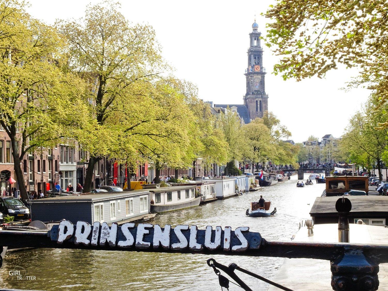 Visiter Amsterdam Canal Prinsensluis
