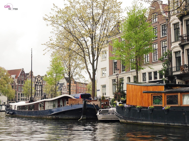 Visiter Amsterdam - croisière sur les canaux - Girltrotter