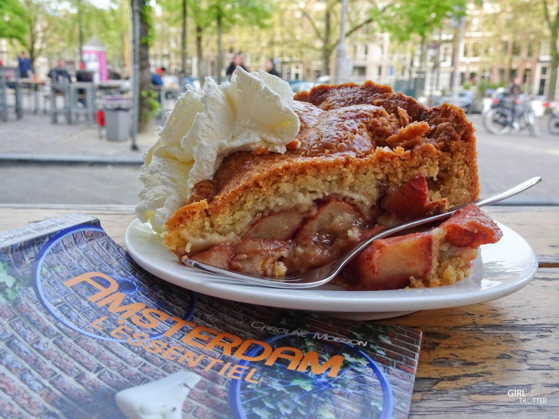 Visiter Amsterdam - appeltaart cafe winkel 43