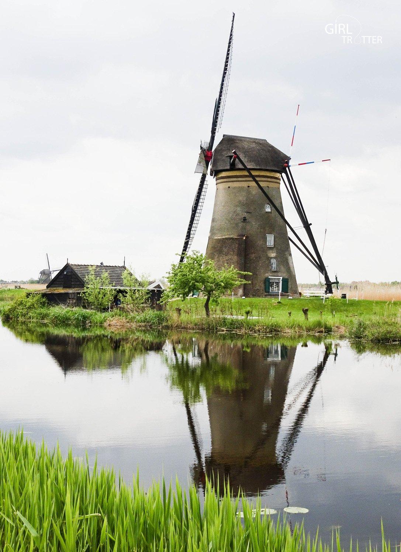 les moulins à vent de Kinderdijk aux pays-bas hollande - Girltrotter