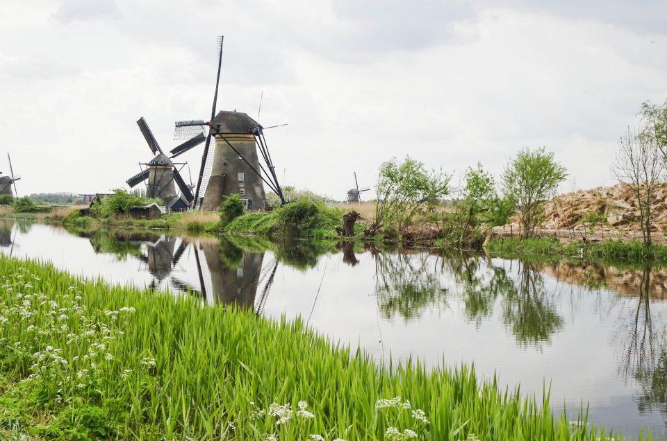 ADMIRER LES MOULINS DE KINDERDIJK EN HOLLANDE