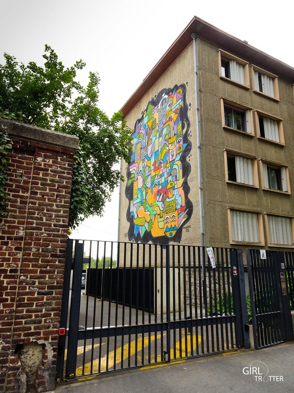 Lille Street Art Michael Barek - Girltrotter