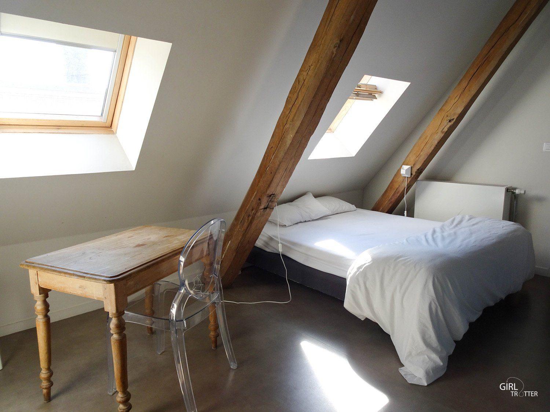Auberge de jeunesse le Gastama à Lille : chambre double