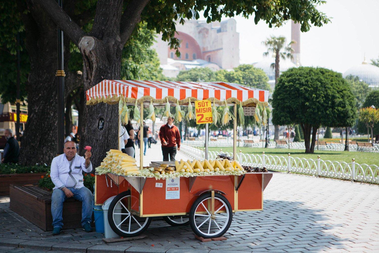 Marchand ambulant Istanbul