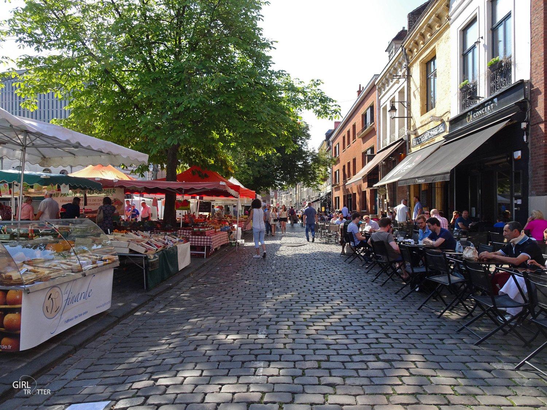 Marche dimanche quartier du vieux Lille