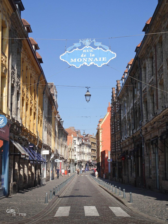Rue de la monnaie Lille