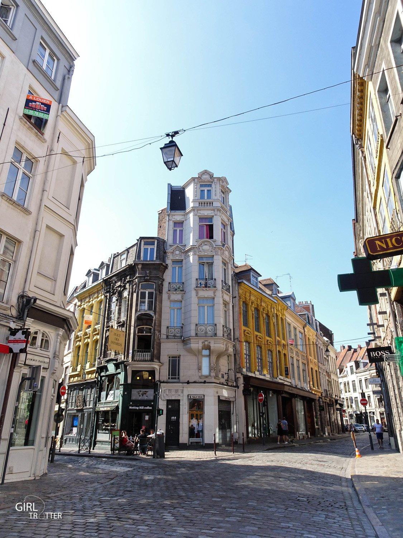 Les rues du vieux Lille