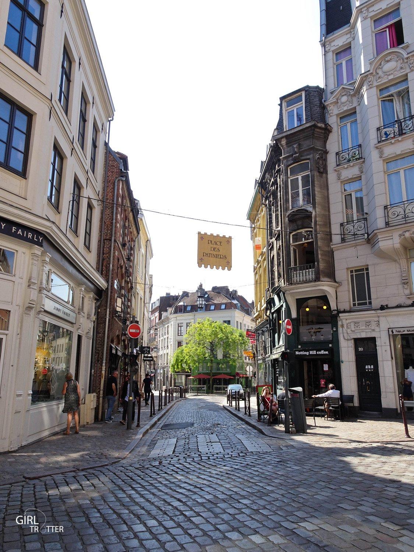 Les rues du vieux Lille : rue des patineurs