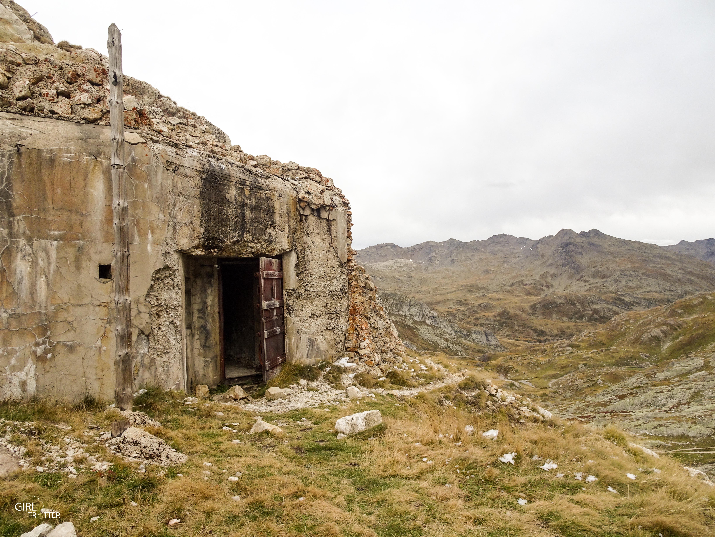 Bunker du Lac de la Clarée