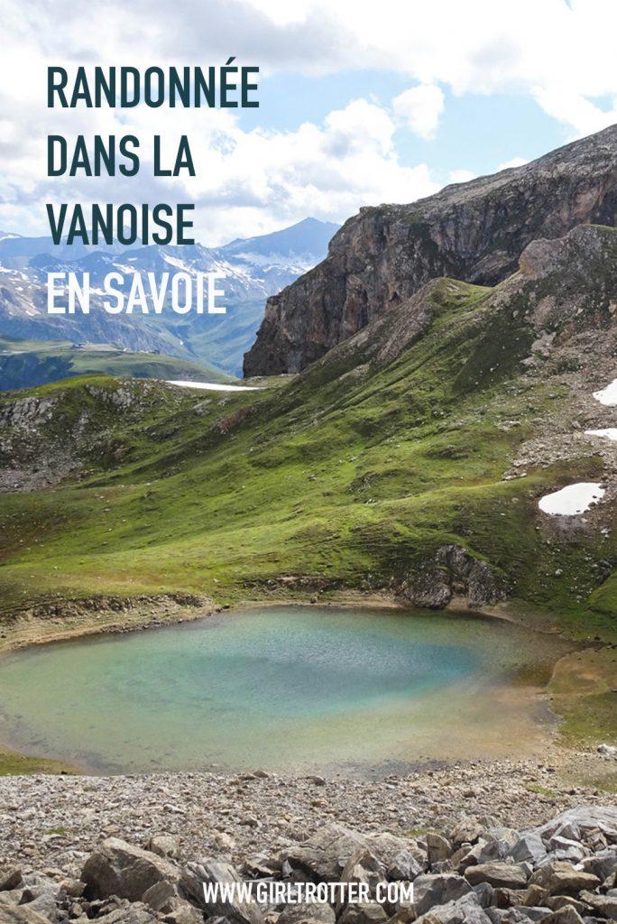 Randonnée Vanoise Savoie depuis Tignes