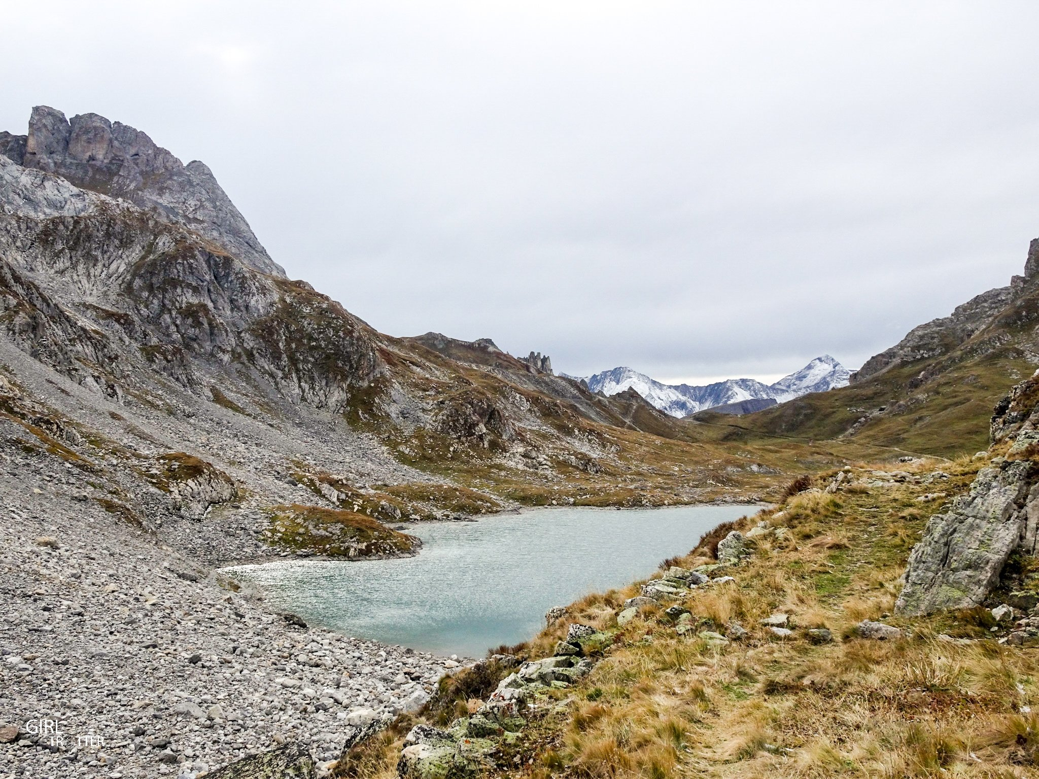 Lac rond - Valloire