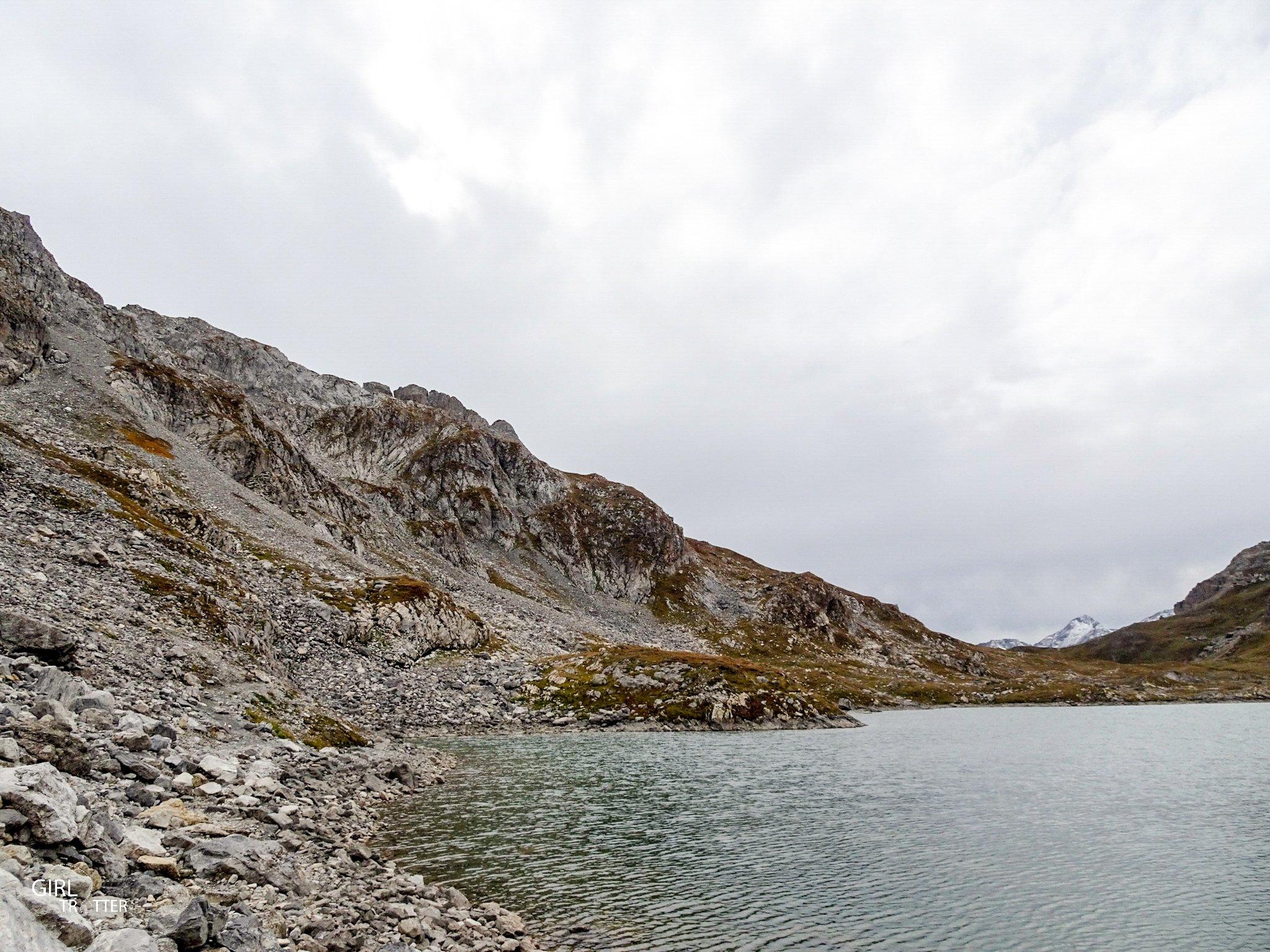 Rando 4 lacs - Lac de Cerces - Valloire