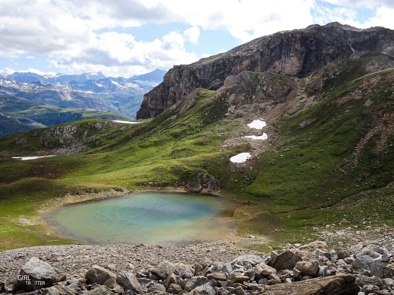 Randonnee Haute Savoie Vanoise Tignes Val d'Isere - Lac de la Baillettaz