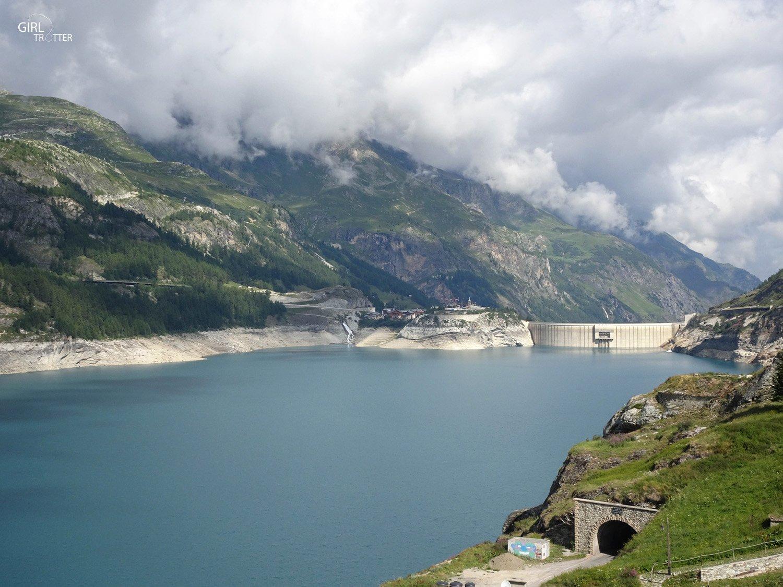Randonnee Haute Savoie Vanoise Tignes Val d'Isere - Lac de Tignes