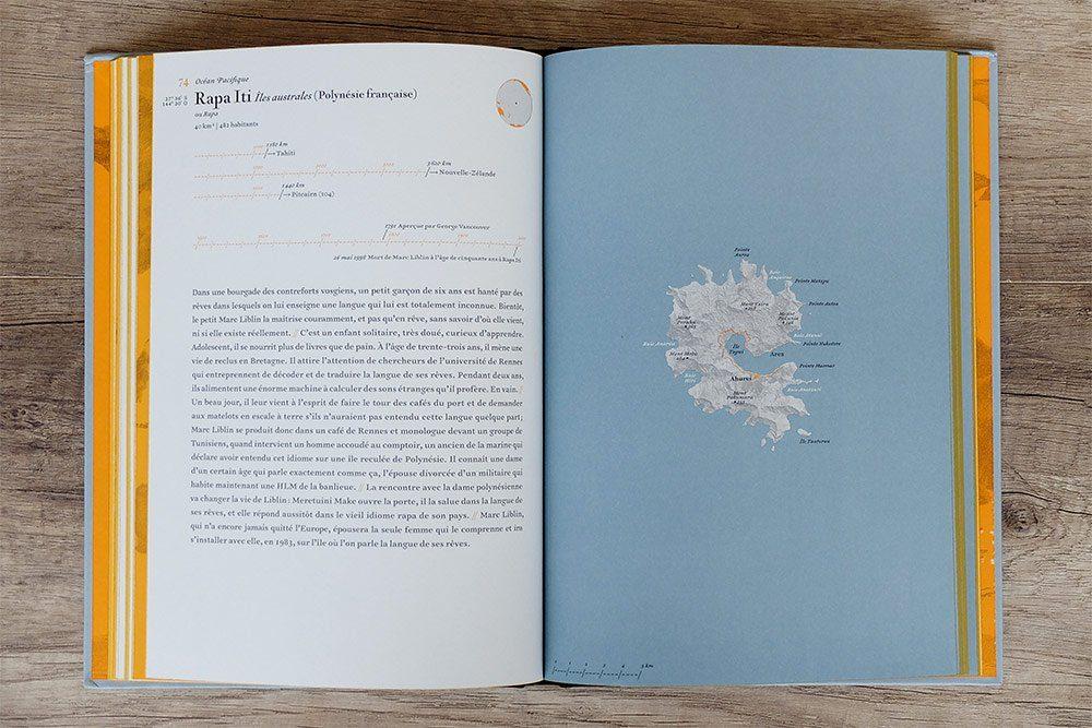 Idee cadeau noel voyage Atlas des îles oubliées