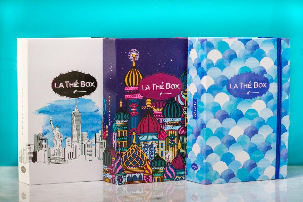 Idee cadeau noel voyage - trio thé box voyage