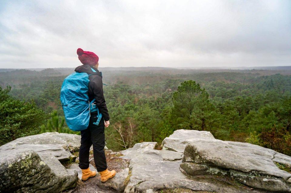 La randonnée des 25 bosses de Fontainebleau