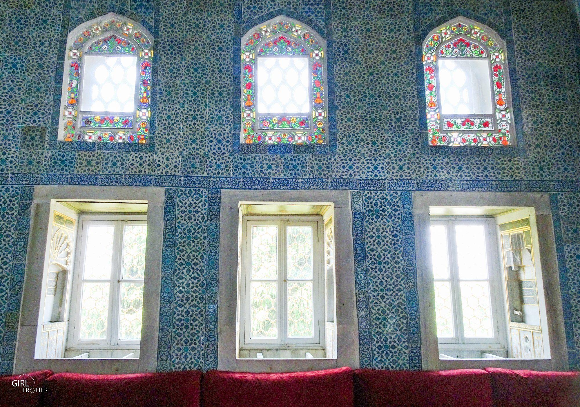 Chambre des circonstances au Palais de Topkapi