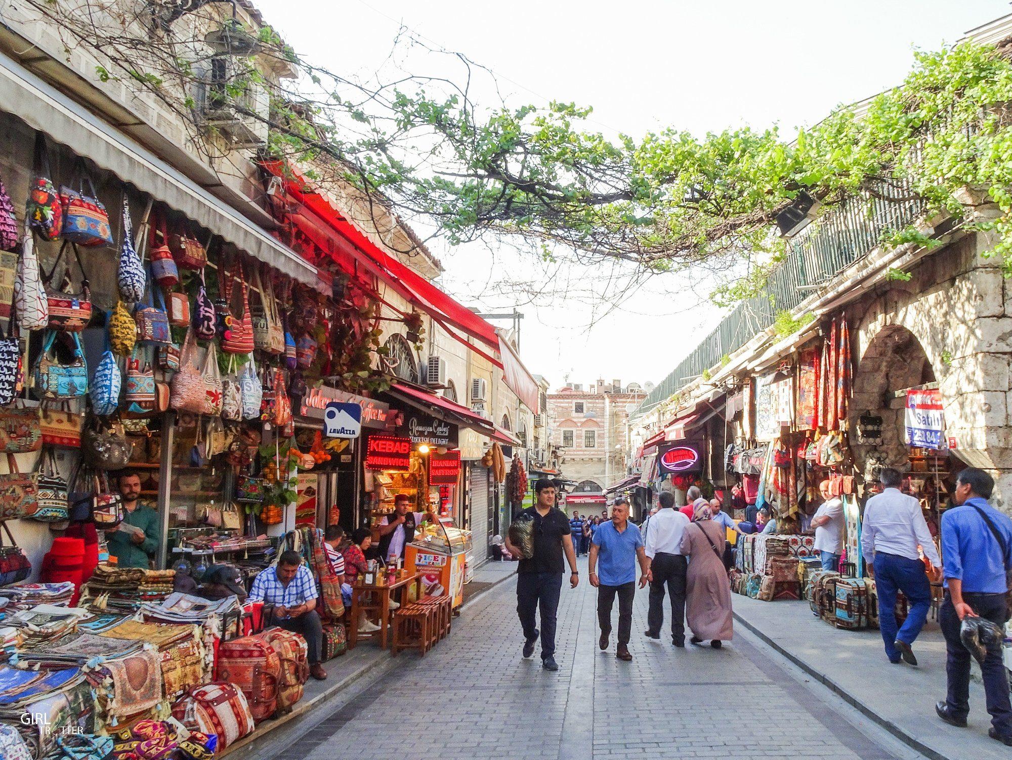 Extérieur du Grand bazar d'Istanbul