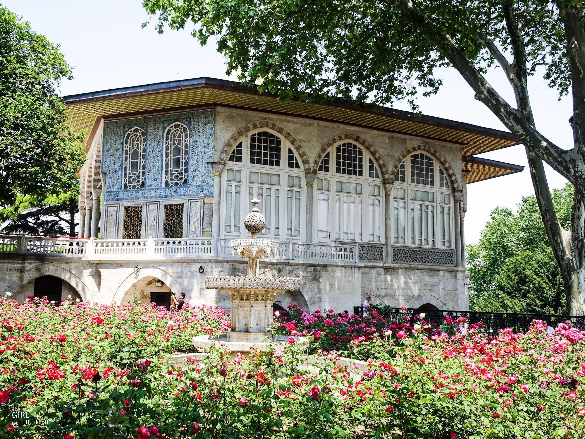 Kiosque d'Erevean au Palais de Topkapi