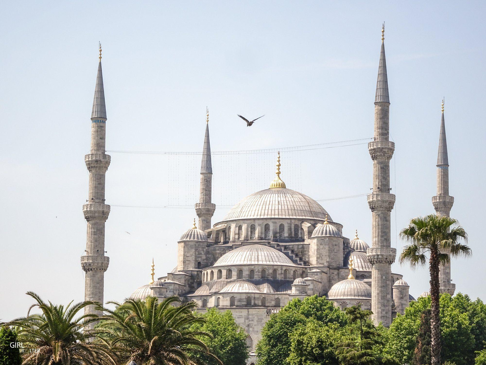 Mosquee Bleue ou mosquée du Sultan Ahmet a Istanbul