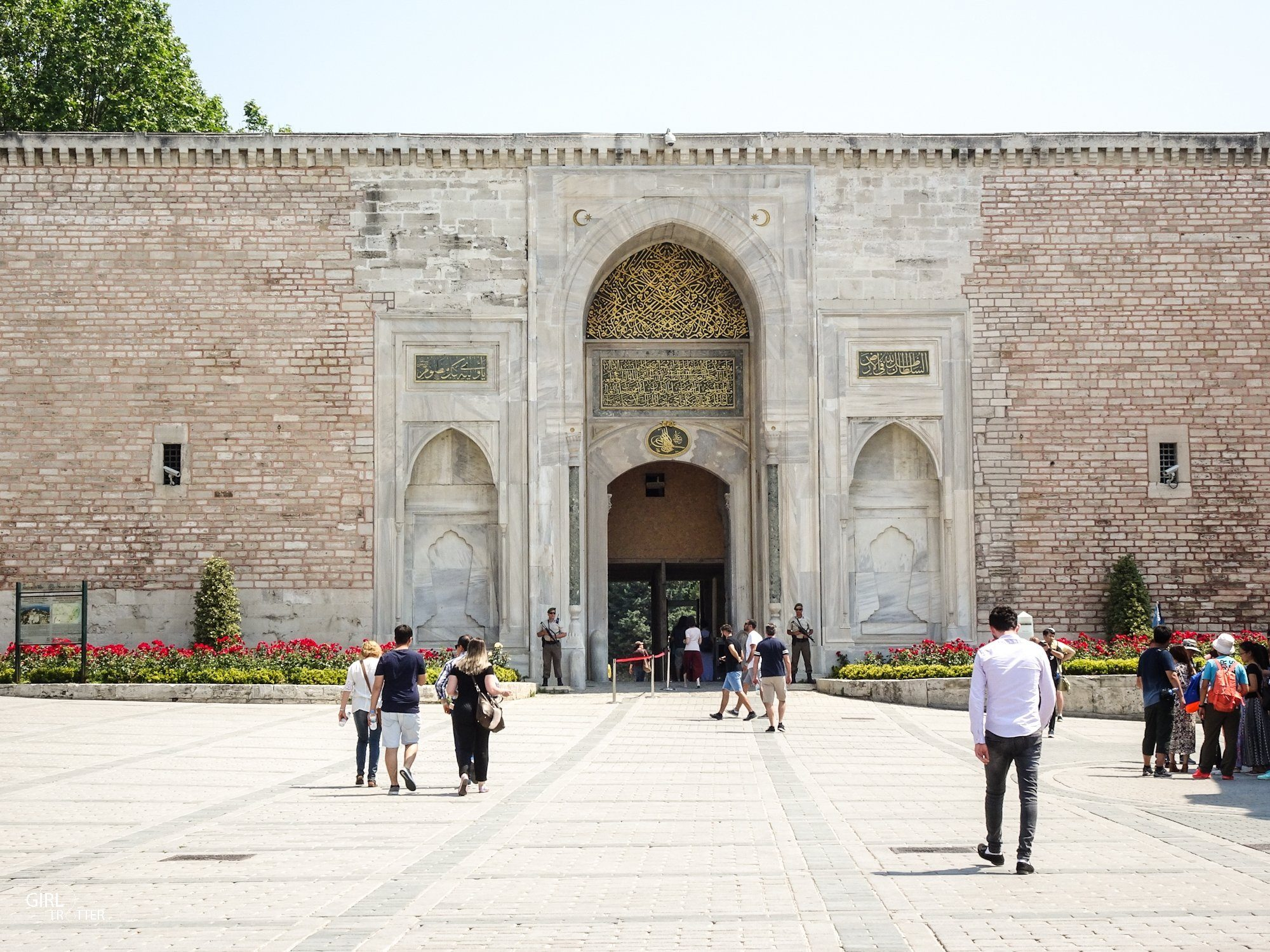 Palais de Topkapi, Porte de l'Auguste