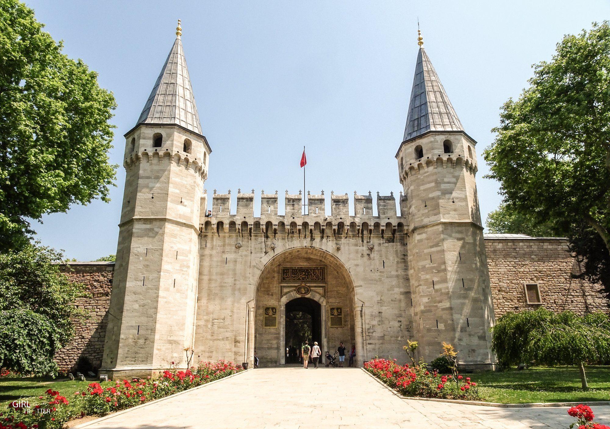 Palais de Topkapi, Porte du Salut - Istanbul